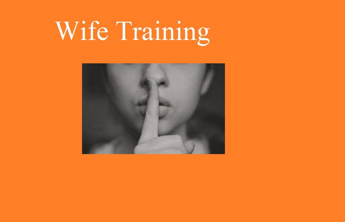 Wife Training Subliminal